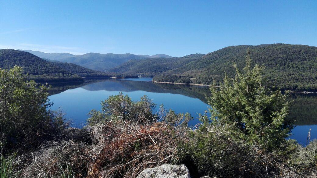 Lago di Gusana: vista dal belvedere